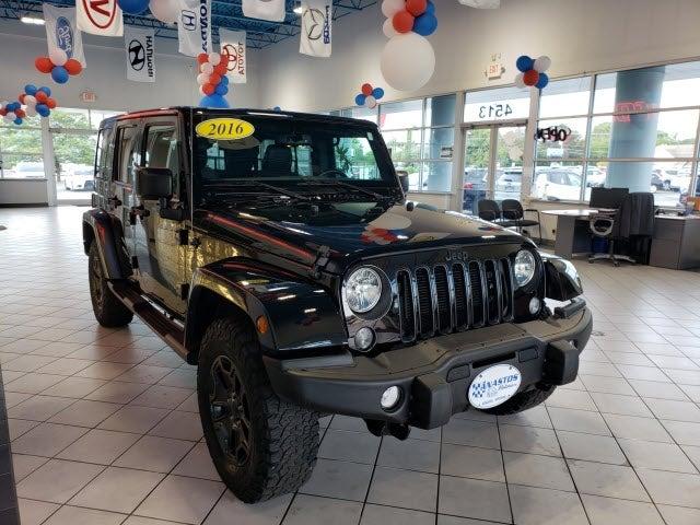 2016 Jeep Wrangler Unlimited Jeep Dealer In Kenosha Wi Used Jeep Dealership Serving Racine Zion Antioch Waukegan Wi